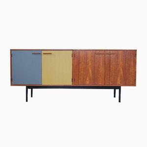 Teak Credenza Sideboard by Kai Kristiansen Fm Møbelfabrik, 1960s
