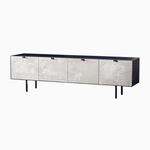 Steel and Concrete Credenza by Alon Dodo