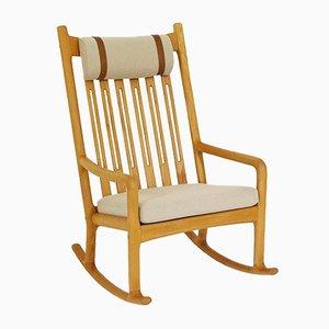 Rocking Chair Vintage par Hans Olsen pour Juul Kristensen