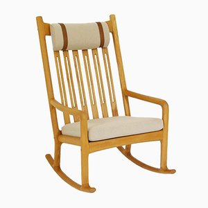 Vintage Rocking chair by Hans Olsen for Juul Kristensen