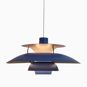 Lampe à Suspension PH5 Vintage par Poul Henningsen pour Louis Poulsen, 1960s