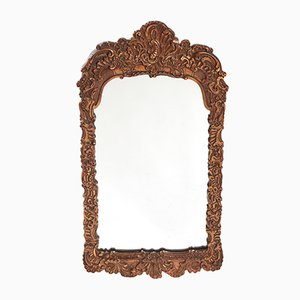 19th-Century Gesso Wall Mirror