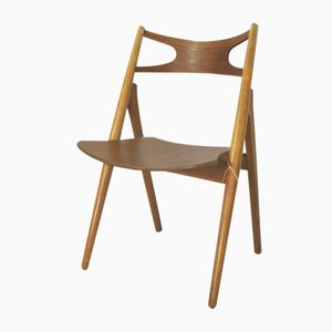 CH26 Sawbuck Chair by Hans J. Wegner for Carl Hansen & Søn, 1955