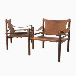 Vintage Rosewood Sirocco Chair by Arne Norell, 1960s