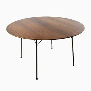 Model 133 Rosewood Table by Arne Jacobsen for Fritz Hansen, 1965