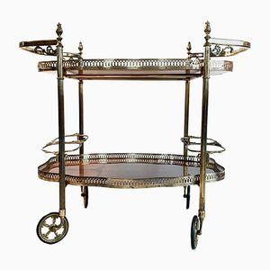 Vintage Italian Serving Bar Cart, 1950s