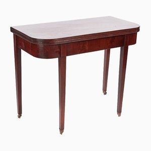 Tavolo da tè Giorgio III in mogano