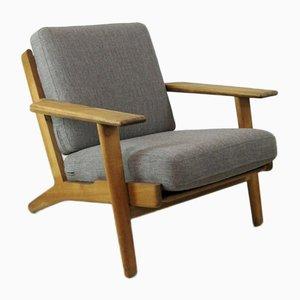Vintage Plank Chair von Hans J. Wegner für Getama, 1952