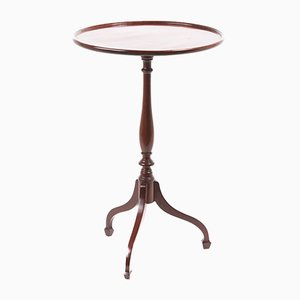 George III Mahogany Tripod Side Table