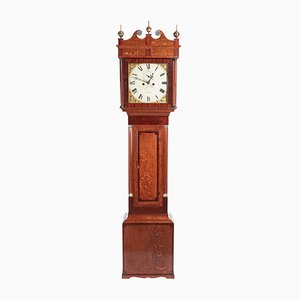 Antique Oak Longcase Clock