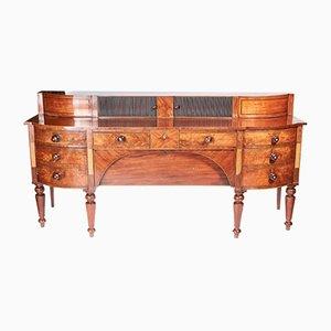Large Antique Georgian Inlaid Mahogany Sideboard