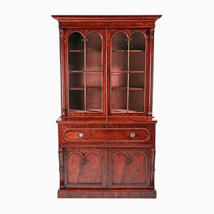 Antique William IV Mahogany Secretaire