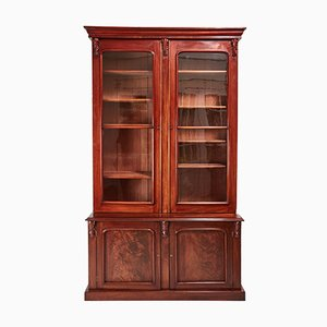 Large Victorian Mahogany Bookcase, 1850s
