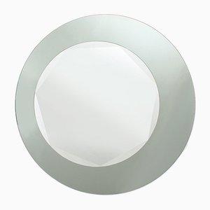 Italian Round Double Overlay Mirrors, 1970s