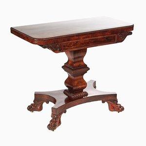 Table à Cartes William IV en Palissandre