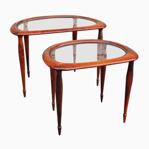 Austrian Side Tables, 1950s, Set of 2