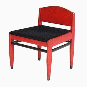 Amsterdamer Schule Stuhl aus Eiche von Piet Kramer für Nusink Amsterdam, 1920er