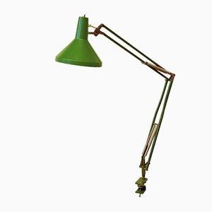 Industrielle Vintage Klemm-Schreibtischlampe von Hala