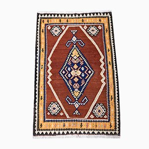 Mid-Century Middle Eastern Sheep Wool Kilim Rug, 1930s