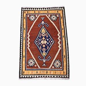 Orientalischer Mid-Century Kelim Teppich aus Schafwolle, 1930er