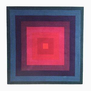 Tessuto Kvadrat originale vintage di Verner Panton per Mira-X, anni '60