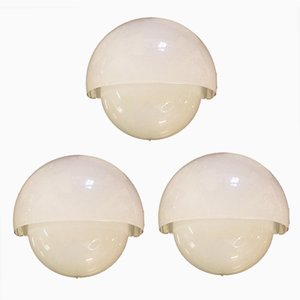 Vintage Wall Lights by Vico Magistretti for Artemide, Set of 3