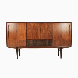 Palisander Highboard by E. W. Bach, 1960s