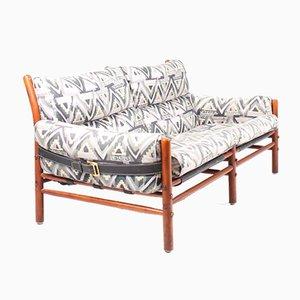 Mid-Century Sofa von Arne Norell für Arne Norel AB, 1980er
