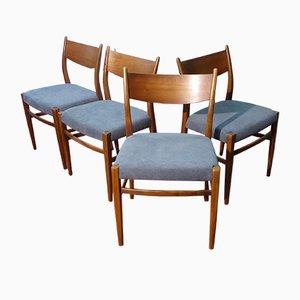 Chaises Vintage par Cees Braakman pour Pastoe, 1950s, Set de 4