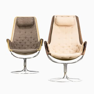 Jetson Chairs by Bruno Mathsson for Dux, 1960s, Set of 2