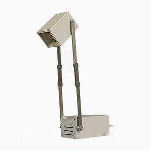 Lámpara de mesa LamPetit danesa gris de Verner Panton para Louis Poulsen, años 50