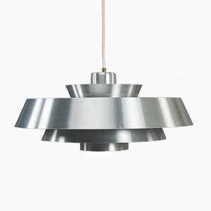 Danish Nova Pendant Lamp by Jo Hammerborg for Fog & Mørup, 1960s