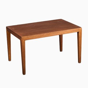 Table Basse Vintage en Teck par Severin Hansen