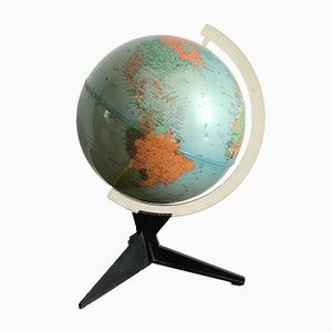 Französischer Vintage Globus, 1960er
