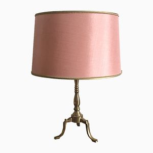 Vintage Pink Table Lamp, 1960s