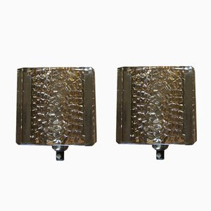 Vintage Wall Sconces from Vitrika, Set of 2