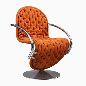 1-2-3 System Armchair by Verner Panton for Fritz Hansen, 1974