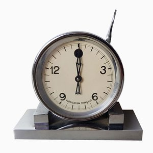 French Art Deco Laboratory Clock