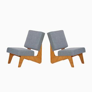 Combex FB03 Lounge Chairs by Cees Braakman for Pastoe, 1952, Set of 2