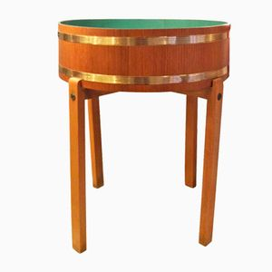 Mid-Century Swedish Teak Planter, 1960s