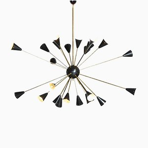 Sputnik Chandelier, 1950s