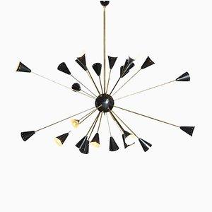 Sputnik Kronleuchter, 1950er