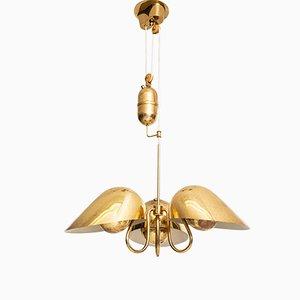 Lampada da soffitto vintage di Carl-axel Acking per Bröderna Malmströms Metallvarufabrik