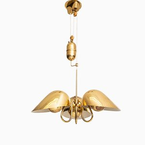 Vintage Deckenlampe von Carl-axel Acking für Bröderna Malmströms Metallvarufabrik