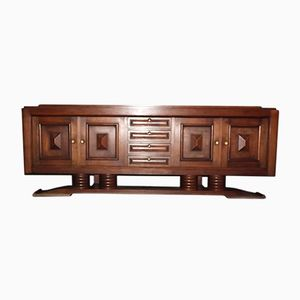 Art Deco Oak Sideboard by Charles Dudouyt, 1940s