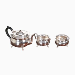 Antique Silver Plated Tea Set, 1900s