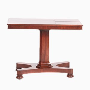 Antique William IV Mahogany Reading Table