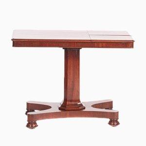 Table de Lecture William IV Antique en Acajou