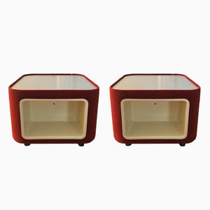 Bedside Tables, 1970s, Set of 2