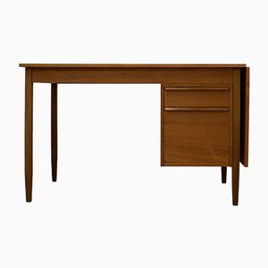 Danish Teak Extendable Desk, 1970s